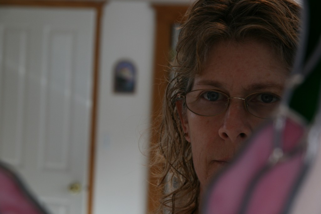 My first self-portrait in January 22011